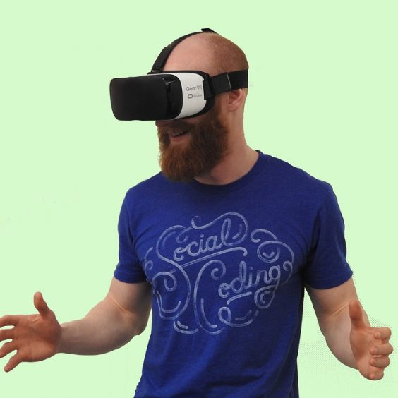 Virtual reality tech PR
