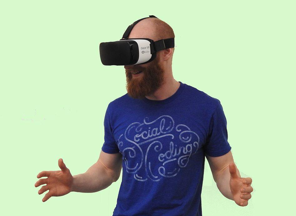 Virtual reality tech PR