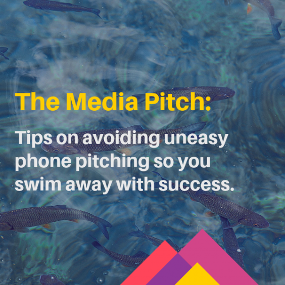 Media pitch: tips on avoiding uneasy phone pitching so you can swim away with success