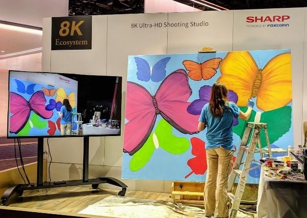 CES 2019 Butterflies