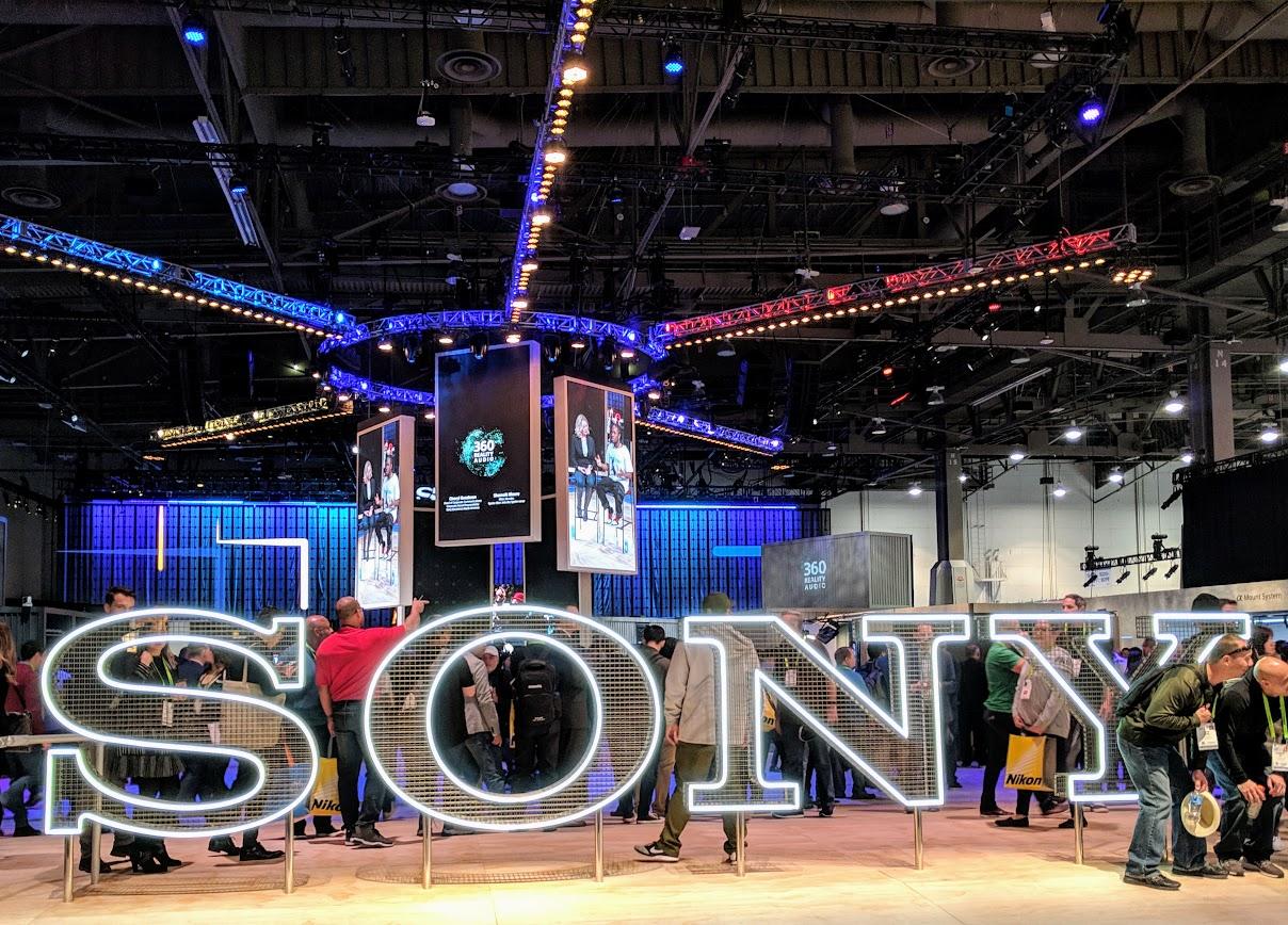 CES 2019 Sony