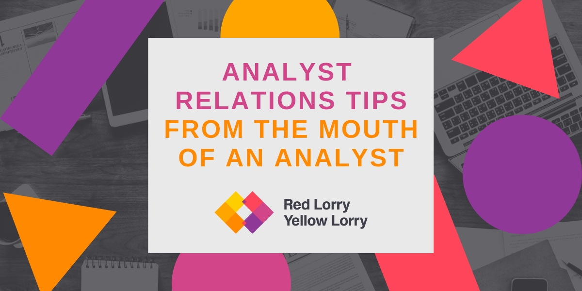 Analyst relations tips from the mouth of an analyst