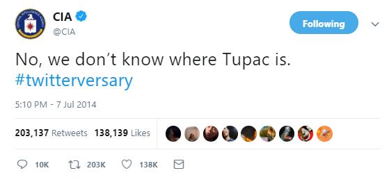 Tupac Tweet