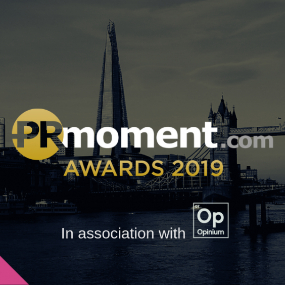 PRmoment awards 2019 nominated
