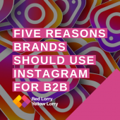 instagram for b2b brands