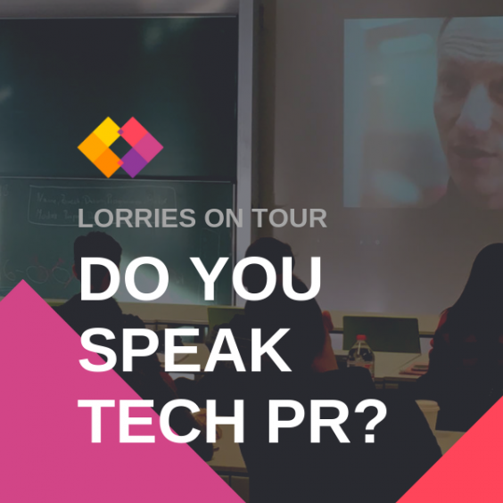 Do you speak Tech PR