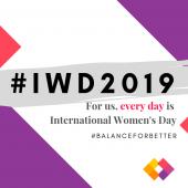 #IWD2019 balance for better