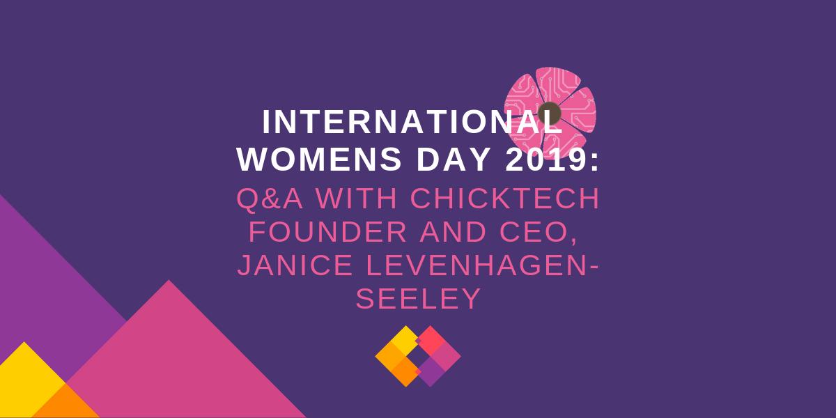 IWD2019 ChickTech Janice Levenhagen-Seeley