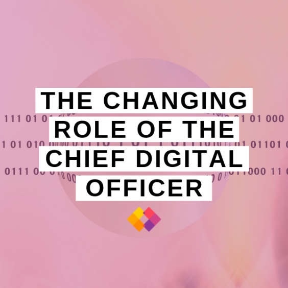 CDO Chief Digital Officer role change
