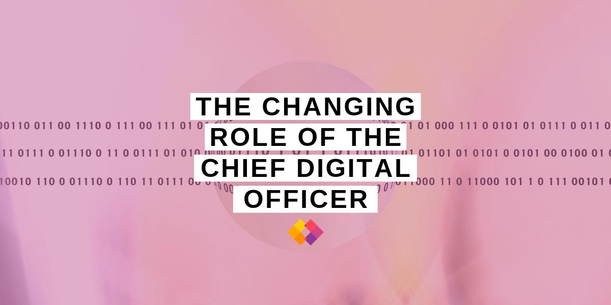 CDO Chief Digital Officer role change