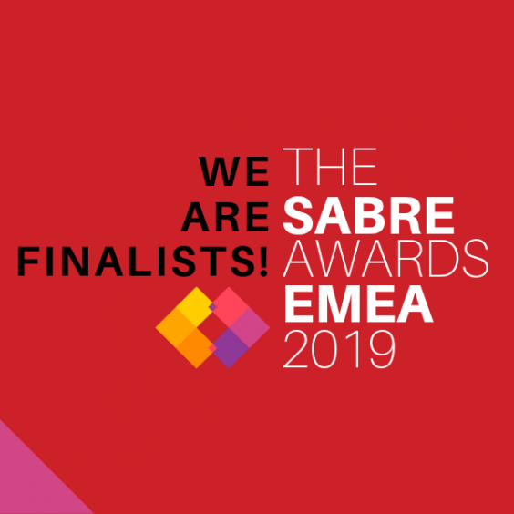 Red Lorry Yellow Lorry are finalists in The SABRE Awards EMEA 2019