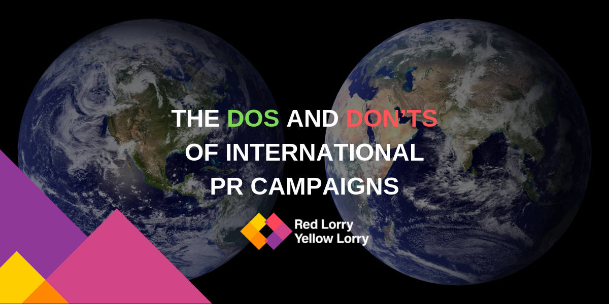 International PR campaigns