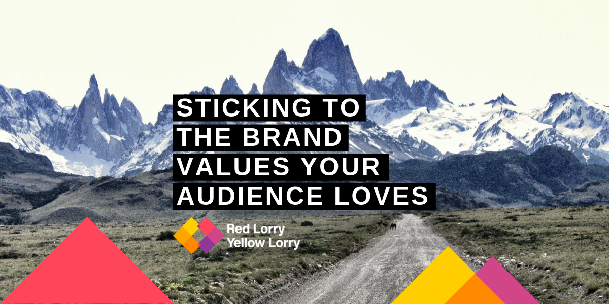 Brand values for audiences